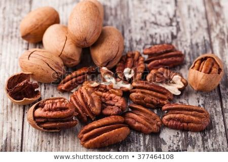 Vers noten witte kom moer schotel Stockfoto © raphotos