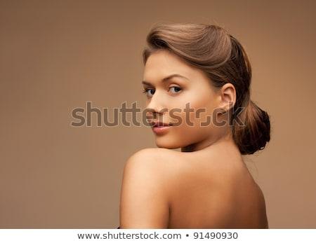 czarnej · kobiety · spa · resort · atrakcyjny · luksusowe - zdjęcia stock © dash