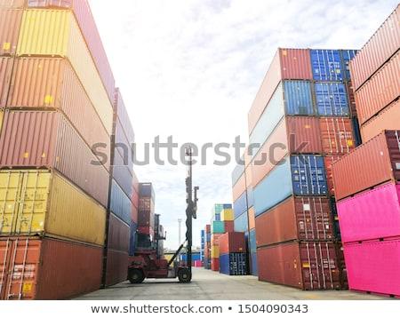 lege · dok · industriële · wijk - stockfoto © michaklootwijk