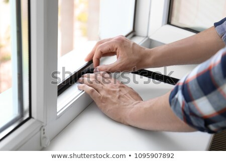 the window insulation Stock photo © flipfine
