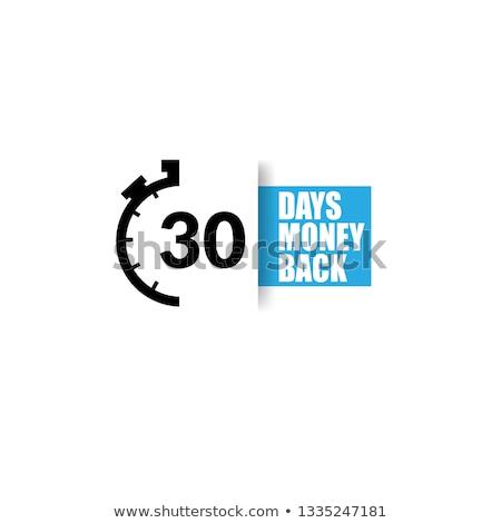 Money Back Blue Vector Icon Button Stock photo © rizwanali3d