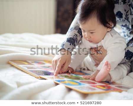 Baby reading Stock photo © tangducminh
