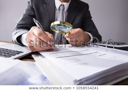 invoices and bills on office table Stock photo © vinnstock