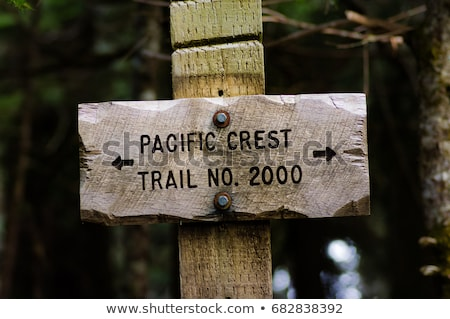 Pacific Crest Trail Sign Stock photo © pancaketom
