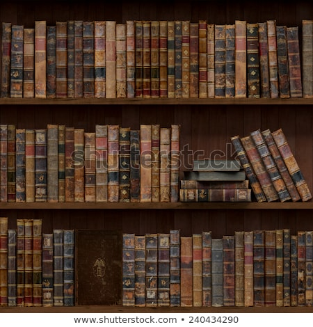 Stock photo: Book Shelf Pattern