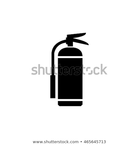 fire extinguisher icon stock photo © blumer1979