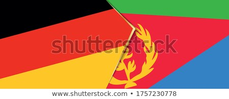 Germany and Eritrea Flags Stock photo © Istanbul2009
