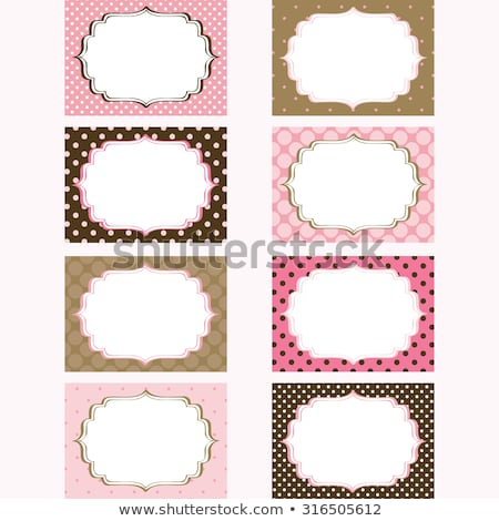 vector set vintage school labels stock photo © netkov1