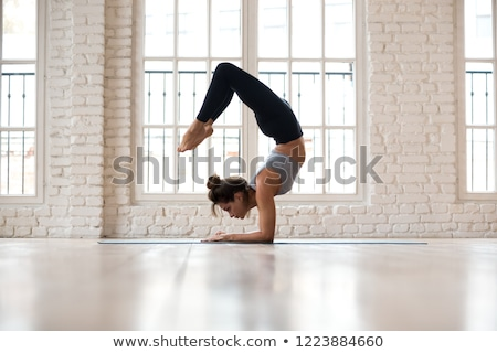 The Scorpion Yoga Pose Stock photo © kentoh