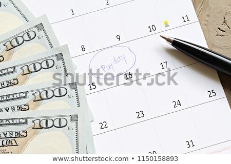 Foto stock: Azul · marcador · mão · escrita · transparente