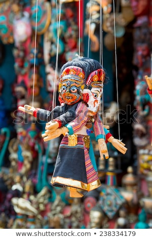 Souvenirs in street shop at Durbar Square in Kathmandu, Nepal. Stock photo © Mariusz_Prusaczyk