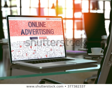 Online Advertising. iMarketing Concept. Stock photo © tashatuvango