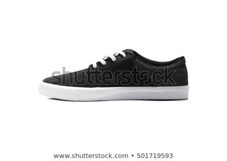 Isolato bianco sport scarpe Foto d'archivio © shutswis