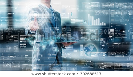 Data Management. Big Data Concept. Stock photo © tashatuvango