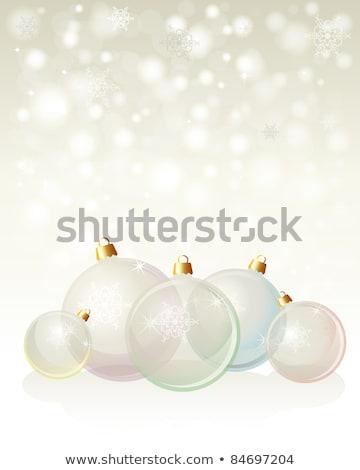 Piros csoport karácsony vektor formátum textúra Stock fotó © piccola