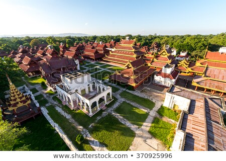 Royal Palace in Mandalay, Myanmar Stock photo © Mikko
