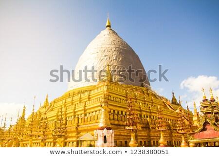 Pagode Mianmar famoso lugar atração turística Foto stock © Mikko