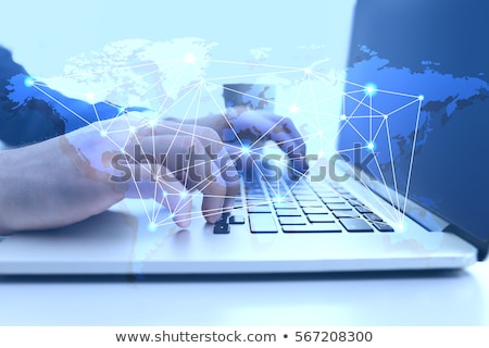 Logistics Network Management Stock photo © Lightsource