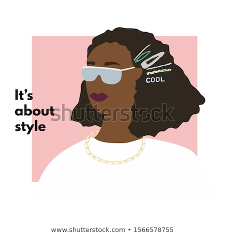 portrait of african american girl in pearls stock photo © neonshot