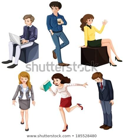 Businessminded individuals Stock photo © bluering