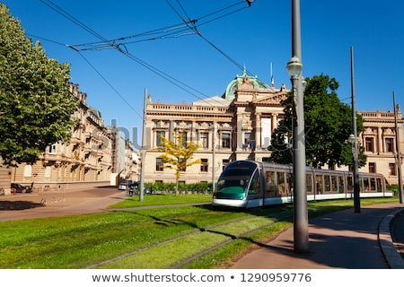 Tram in Strasbourg Stock photo © Givaga