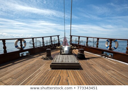 Ships Decking stock photo © naffarts