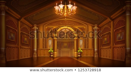 golden church interior stock photo © ruslanomega
