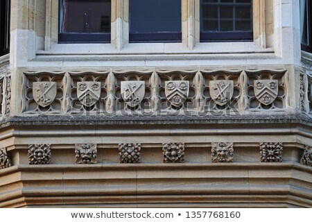 Gargoyle at New College Oxford Stock photo © chrisdorney