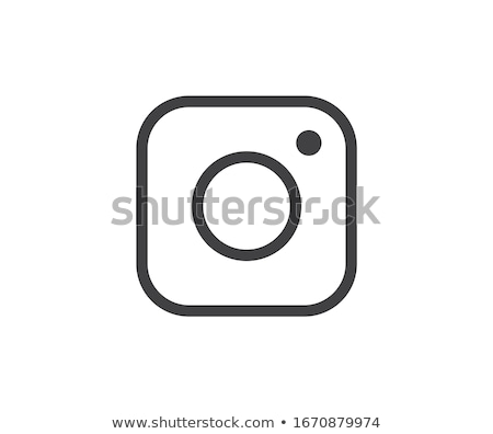 Sosyal medya ikon fotoğraf kamera instagram simgeler Stok fotoğraf © softulka