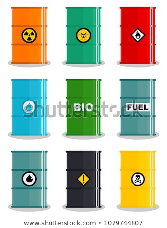 Oil drums Stock photo © alexeys
