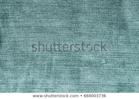 зеленый джинсовой текстуры джинсов шаблон ткань Сток-фото © SArts