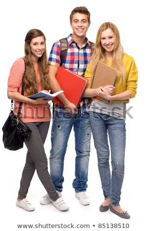 Group Of Teenage Friends In Studio stock photo © monkey_business