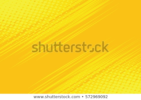 Yellow side hatch with halftone effect Stock photo © studiostoks