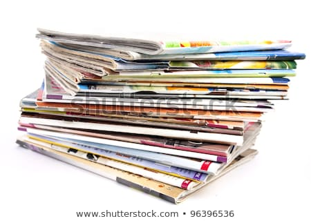 A bunch of magazine Stock photo © Kidza