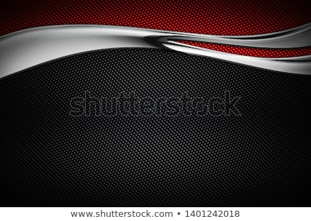 metaal · koolstof · vezel · platen - stockfoto © albund