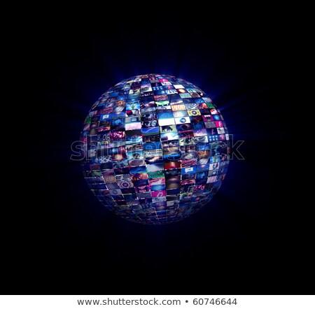 黒 · シンボル · 青 · 国際 - ストックフォト © eyeidea