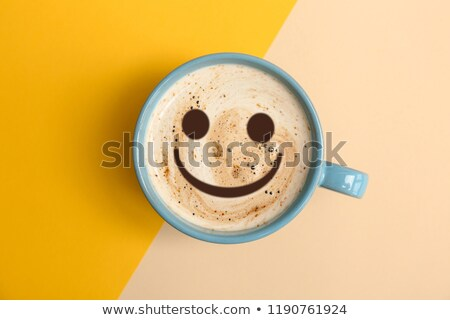 Coffee with smile. stock photo © Fisher