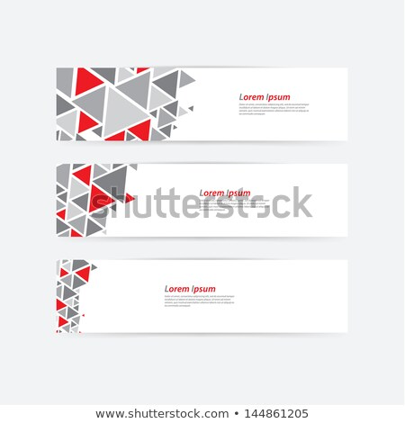 modern login form template for your web design Stock photo © SArts