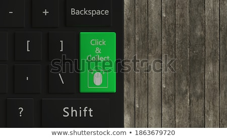 Green Solution Key on Keyboard. 3D Illustration. Stock photo © tashatuvango