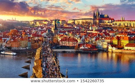 üzerinde Çek cumhuriyet şehir ülke Stok fotoğraf © LucVi