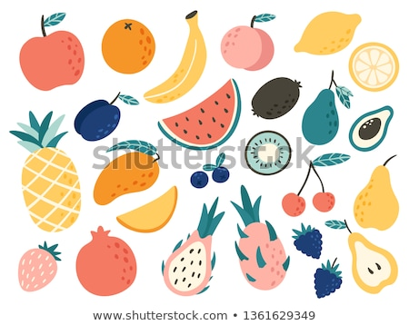 Vector fruit illustration  stock photo © barsrsind
