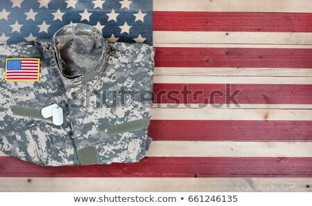 США деревенский флаг Соединенные Штаты Сток-фото © tab62