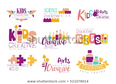 logo for classes origami stock photo © olena