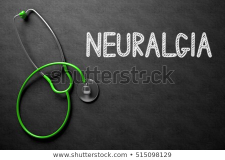 Neuralgia on Chalkboard. 3D Illustration. Stock photo © tashatuvango