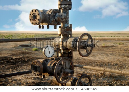 environmental damage from old oil pumps stock photo © ssuaphoto