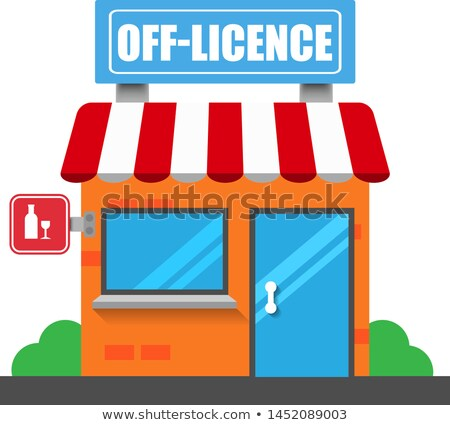 Off licence sign Stock photo © IS2