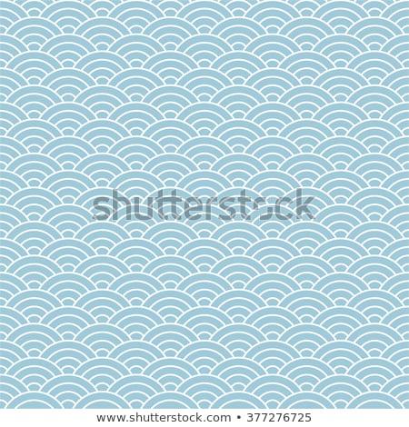 japán · minták · vektor · végtelenített · textúra · absztrakt - stock fotó © yopixart