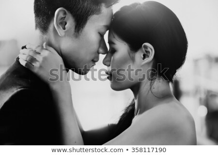 Venice bride and groom embracing Stock photo © IS2