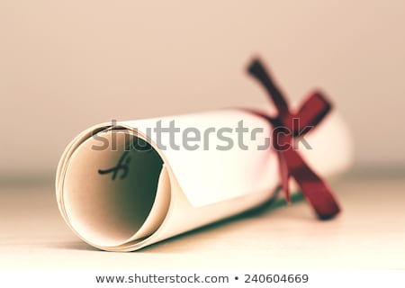 Online Education, Completion of University Degree Stock photo © robuart