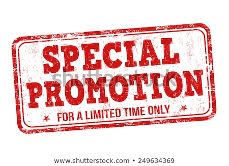 Special Promotion Discount Vector Illustration Stock photo © robuart